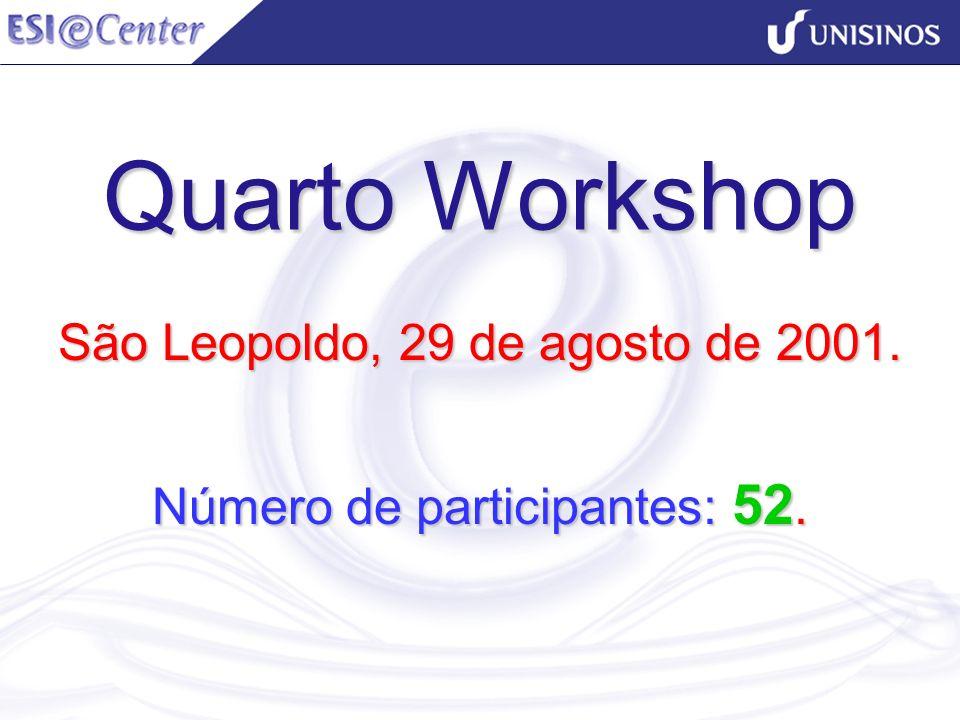 São Leopoldo, 29 de agosto de 2001. Número de participantes: 52.