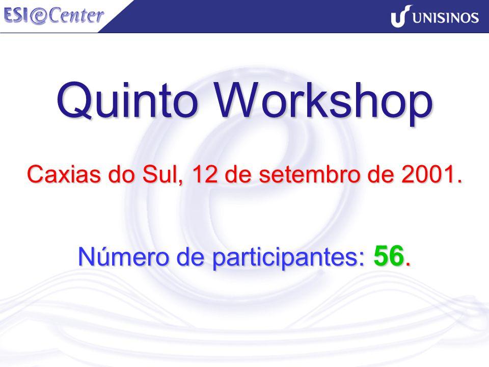 Caxias do Sul, 12 de setembro de 2001. Número de participantes: 56.