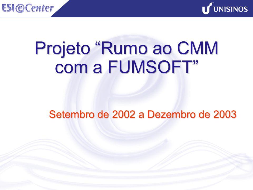 Projeto Rumo ao CMM com a FUMSOFT