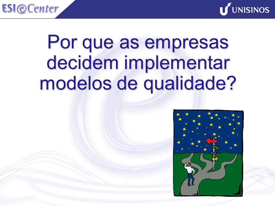 Por que as empresas decidem implementar modelos de qualidade