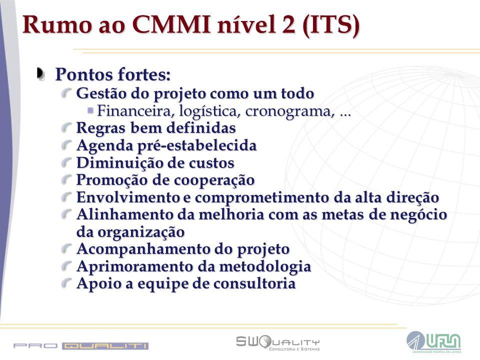 Rumo ao CMMI nível 2 (ITS)