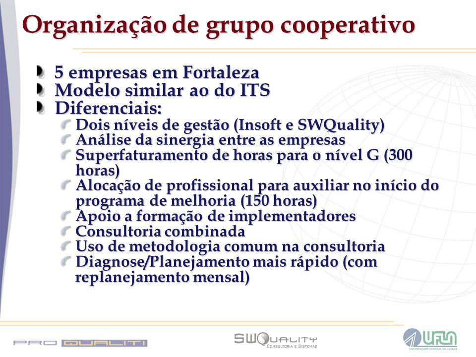 Organização de grupo cooperativo
