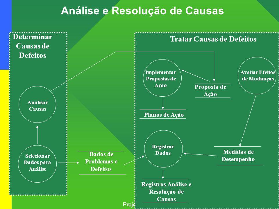Análise e Resolução de Causas