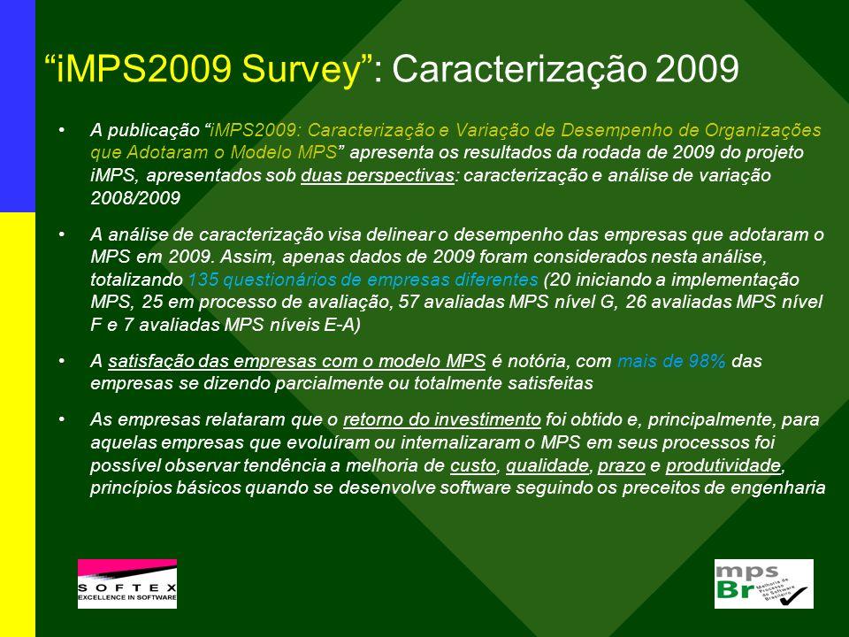 iMPS2009 Survey : Caracterização 2009