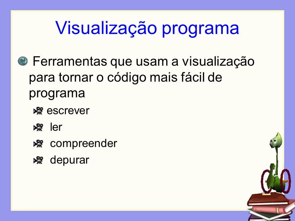 Visualização programa
