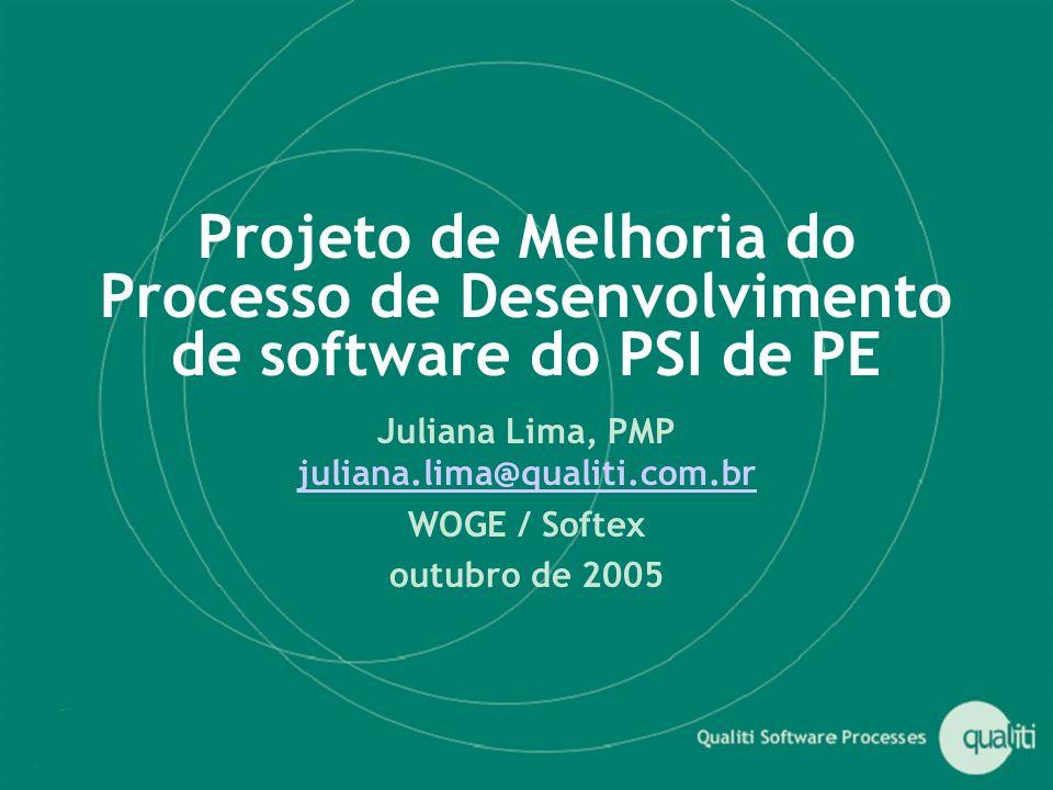 Juliana Lima, PMP juliana.lima@qualiti.com.br