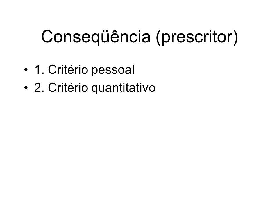 Conseqüência (prescritor)