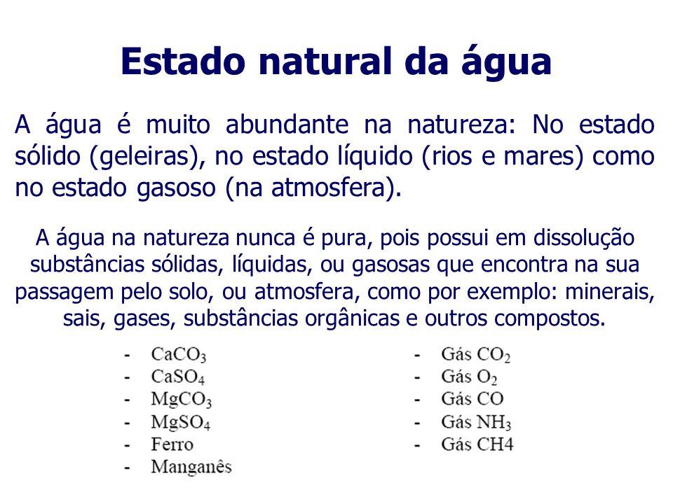 Estado natural da água