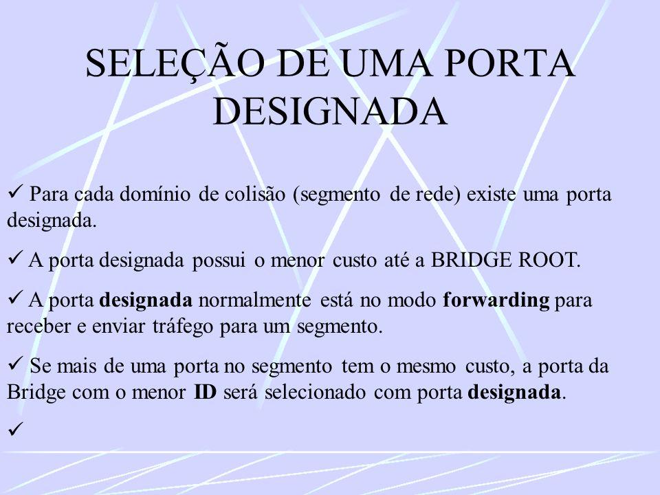 SELEÇÃO DE UMA PORTA DESIGNADA