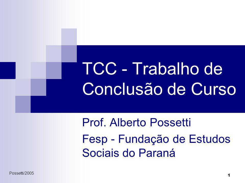 TCC - Trabalho de Conclusão de Curso