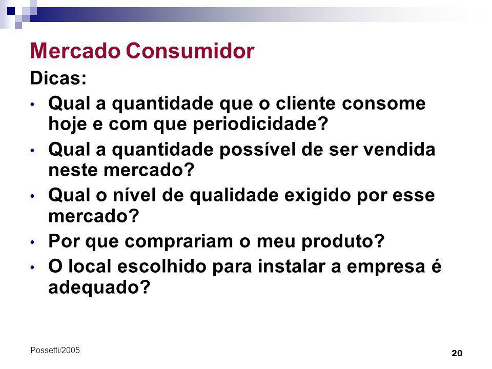 Mercado Consumidor Dicas: