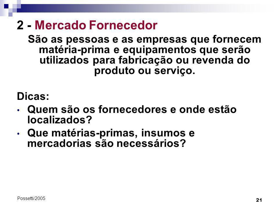 2 - Mercado Fornecedor Dicas: