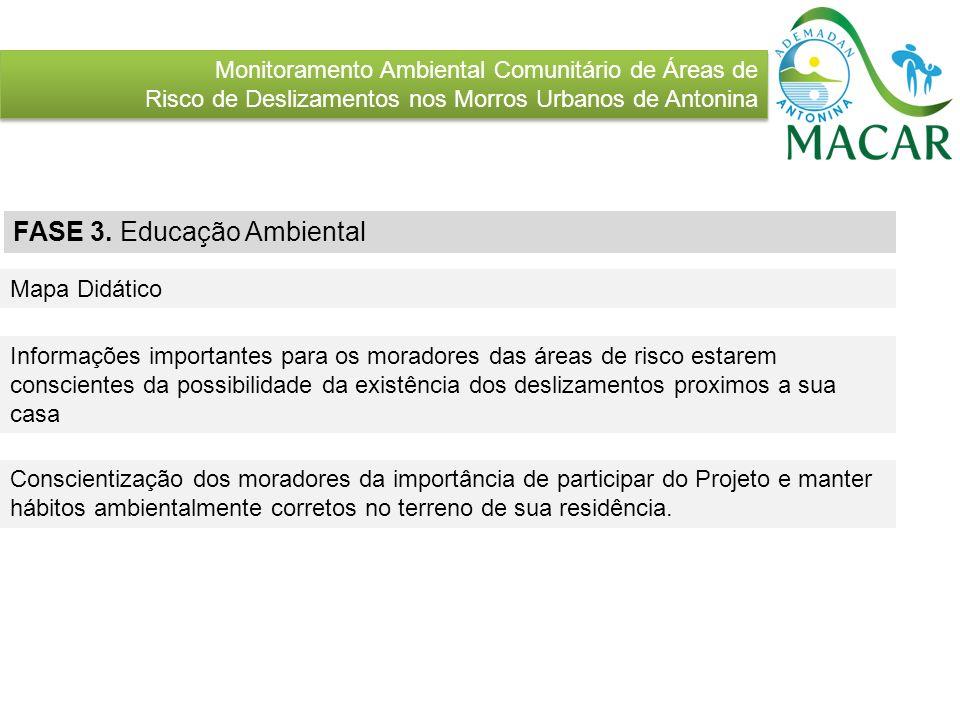 FASE 3. Educação Ambiental