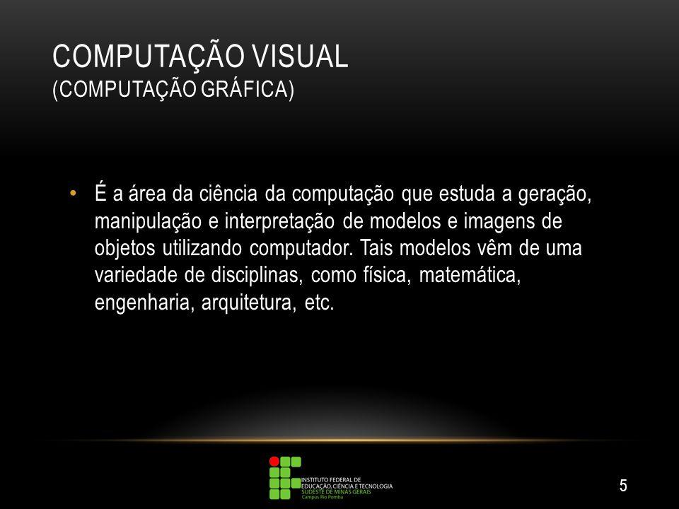 COMPUTAÇÃO VISUAL (COMPUTAÇÃO GRÁFICA)