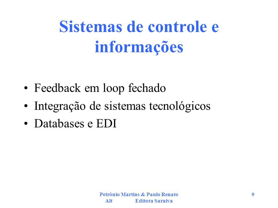 Sistemas de controle e informações