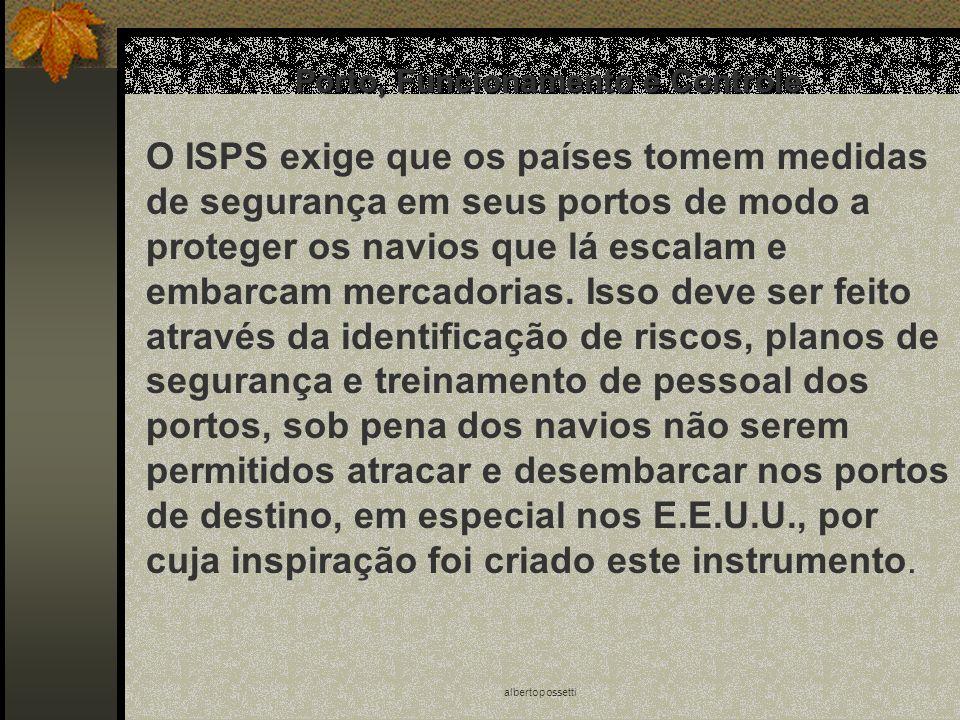 Porto, Funcionamento e Controle