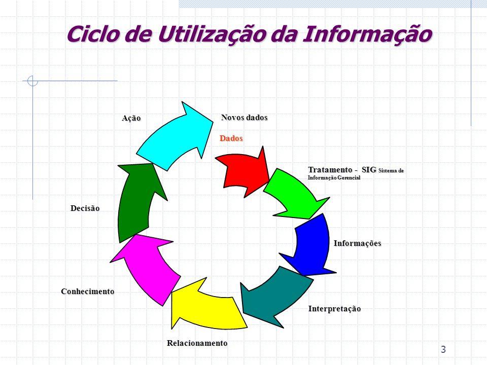 Ciclo de Utilização da Informação