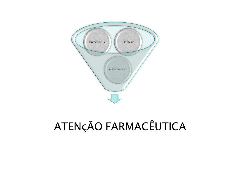 INDIVIDUO MEDICAMENTO FARMACËUTICO ATENçÃO FARMACÊUTICA