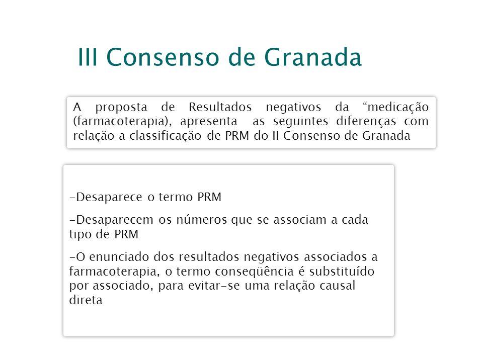III Consenso de Granada