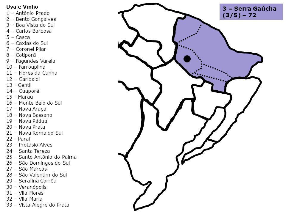 3 – Serra Gaúcha (3/5) – 72 Uva e Vinho 1 – Antônio Prado