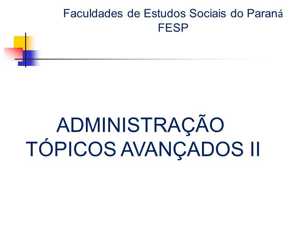 Faculdades de Estudos Sociais do Paraná FESP