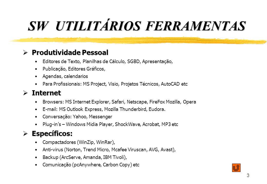 SW UTILITÁRIOS FERRAMENTAS