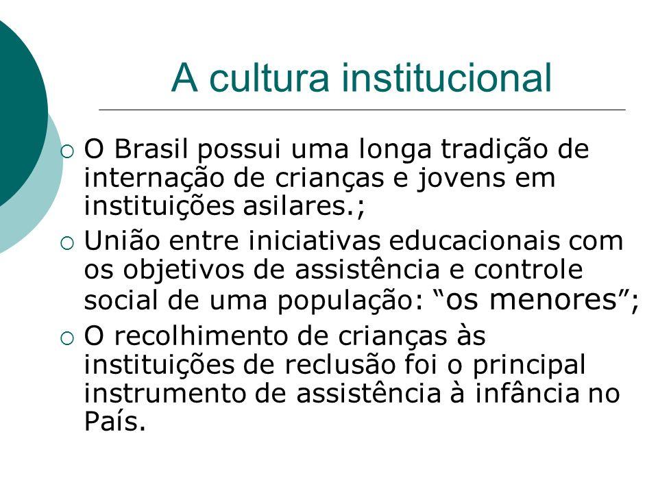 A cultura institucional