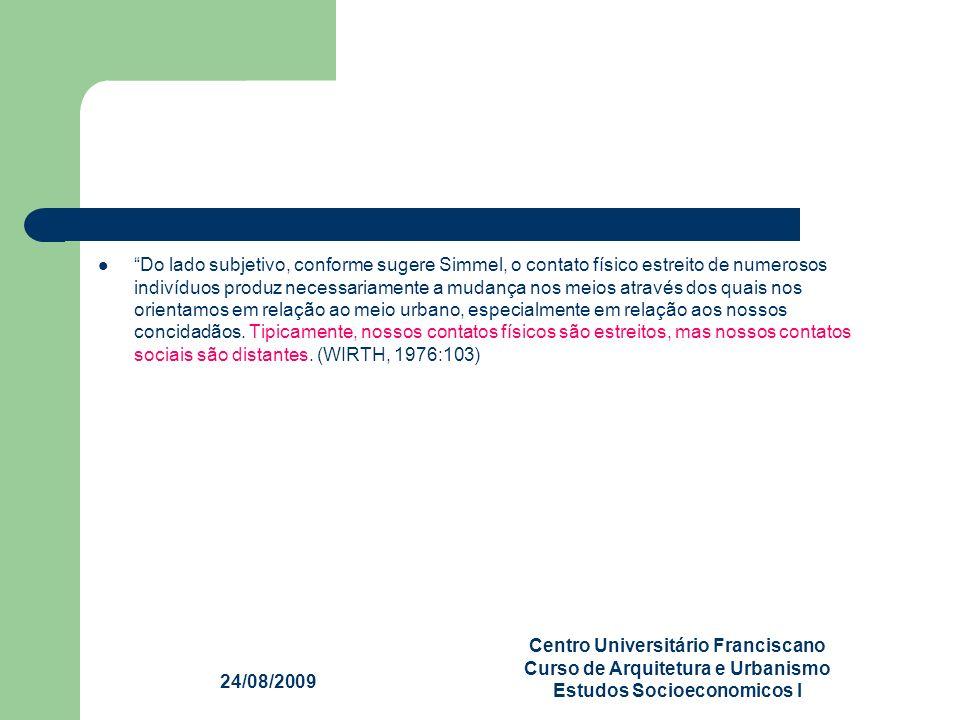 Centro Universitário Franciscano Curso de Arquitetura e Urbanismo