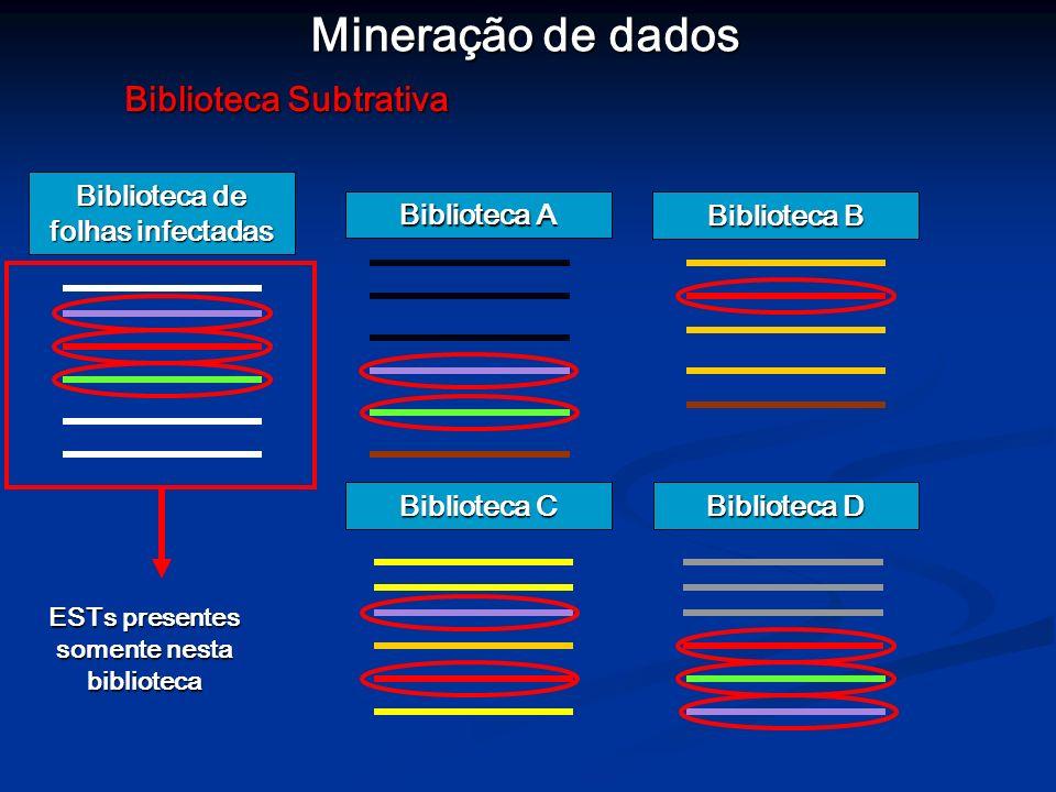 Mineração de dados Biblioteca Subtrativa