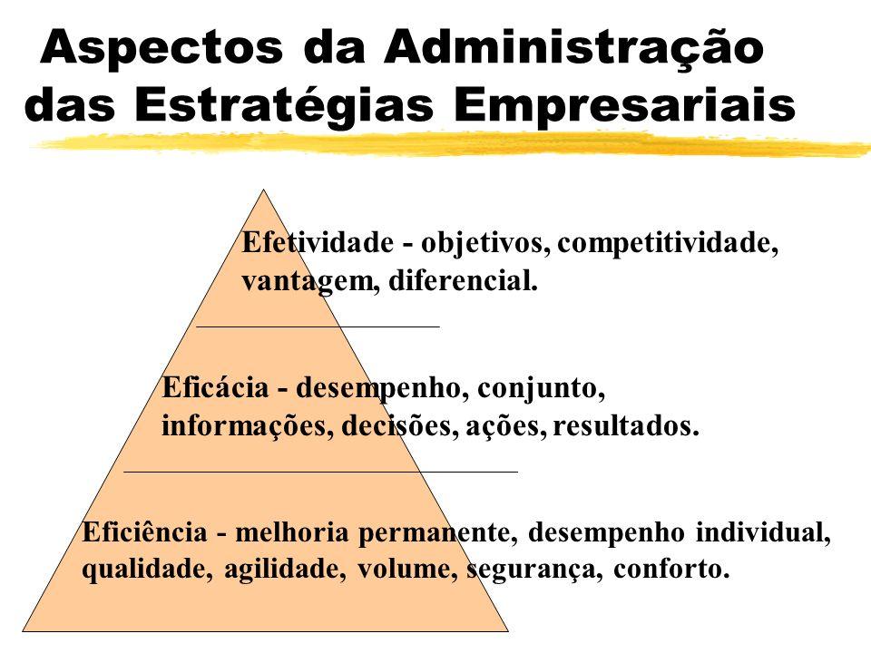 Aspectos da Administração das Estratégias Empresariais
