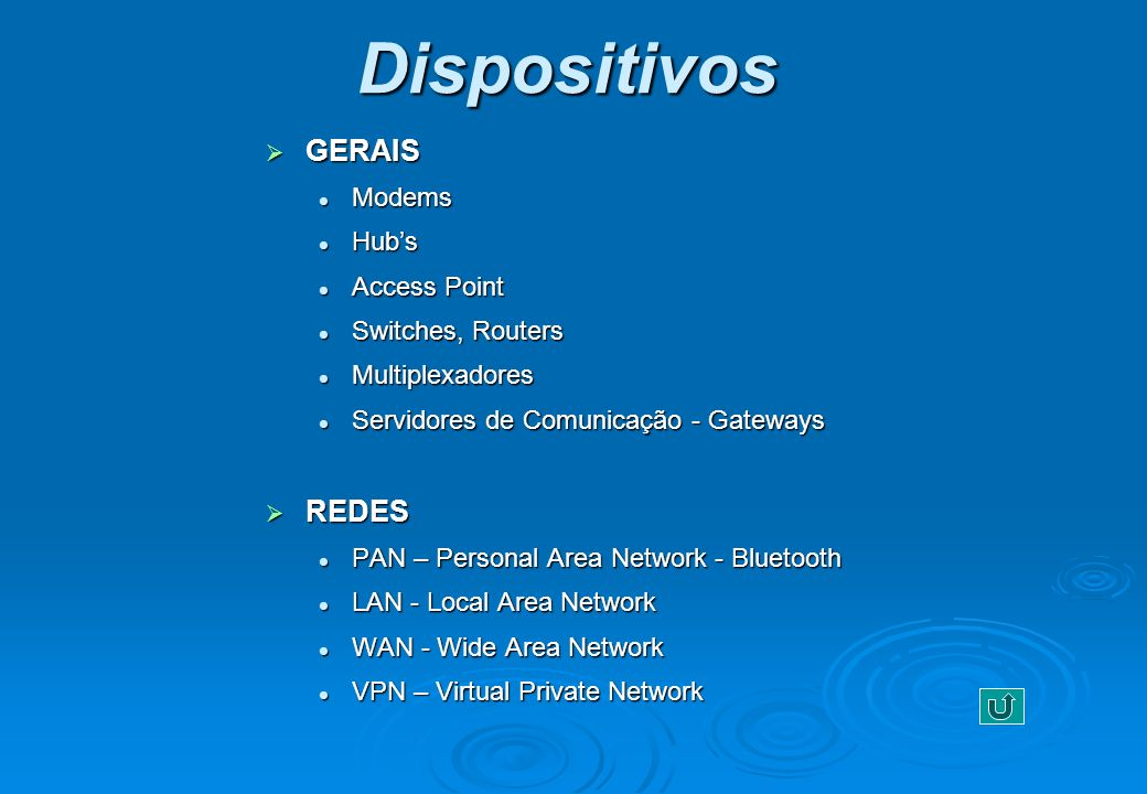 Dispositivos GERAIS REDES Modems Hub's Access Point Switches, Routers