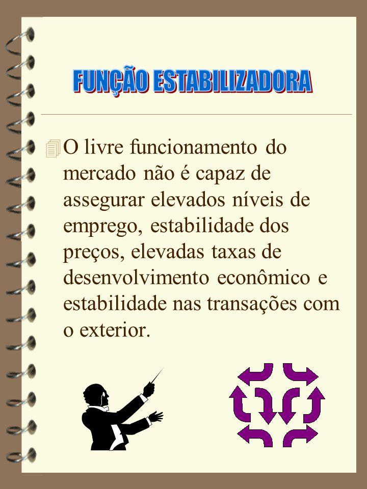 FUNÇÃO ESTABILIZADORA