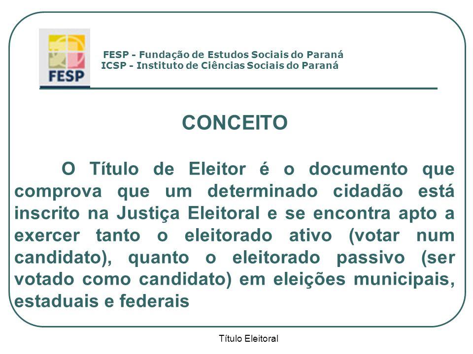 FESP - Fundação de Estudos Sociais do Paraná