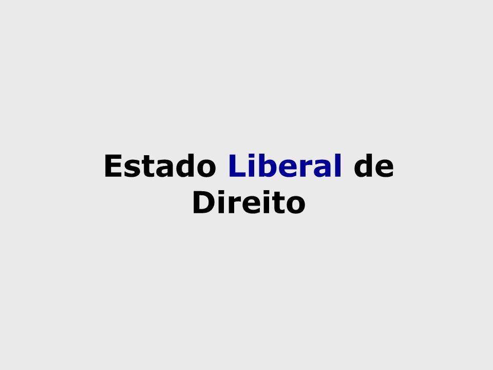 Estado Liberal de Direito