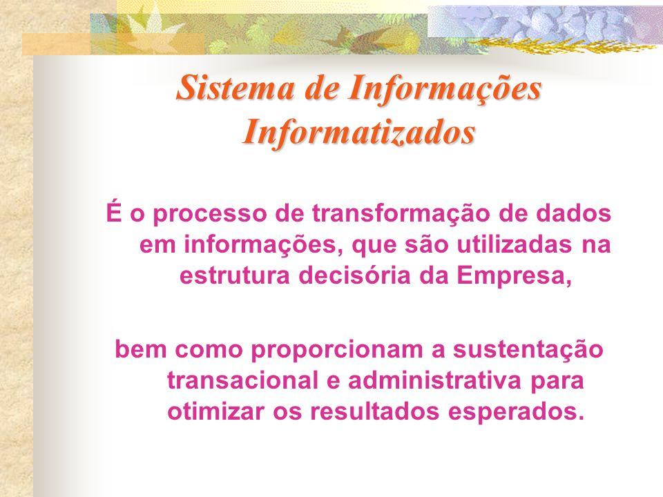 Sistema de Informações Informatizados