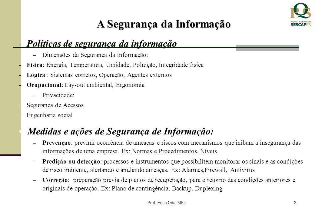 A Segurança da Informação
