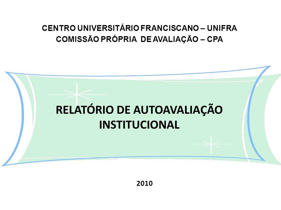 RELATÓRIO DE AUTOAVALIAÇÃO INSTITUCIONAL