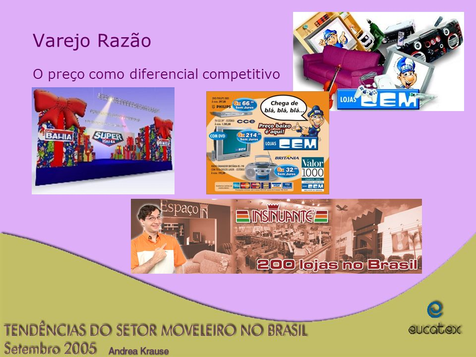 Varejo Razão O preço como diferencial competitivo