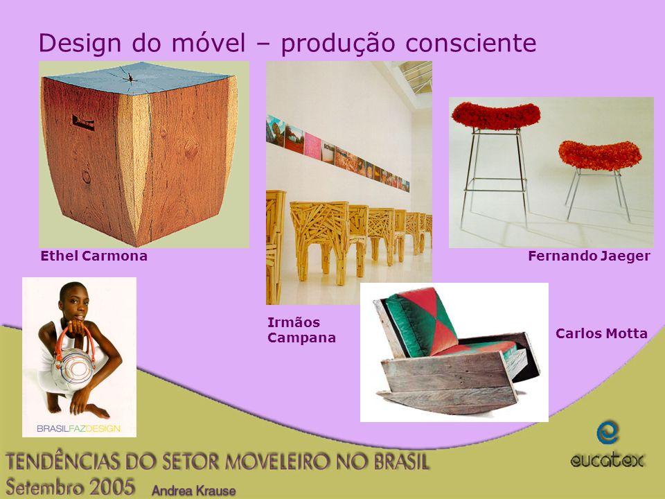 Design do móvel – produção consciente