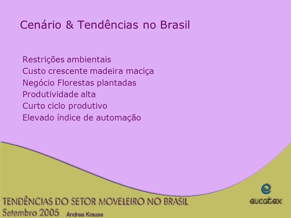 Cenário & Tendências no Brasil