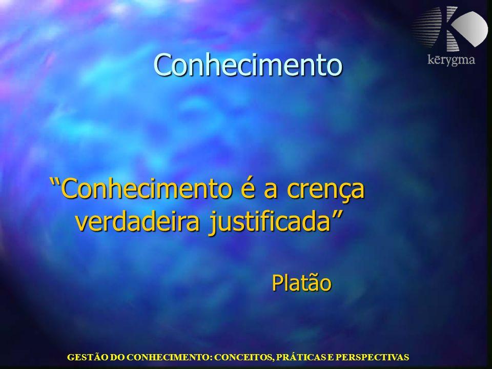 GESTÃO DO CONHECIMENTO: CONCEITOS, PRÁTICAS E PERSPECTIVAS