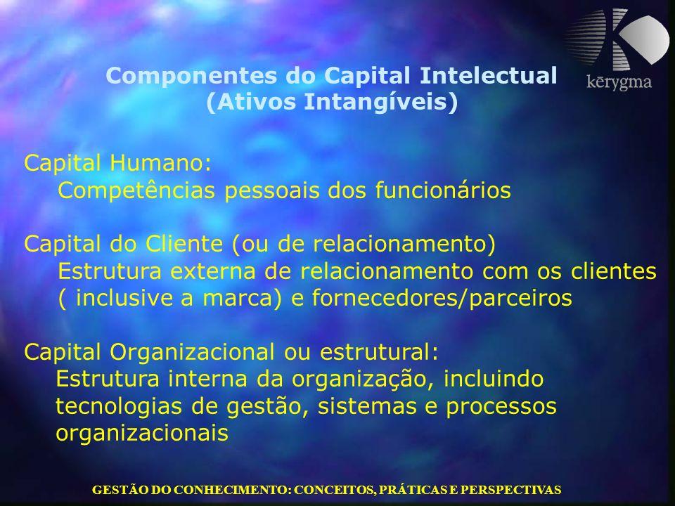 Componentes do Capital Intelectual (Ativos Intangíveis)