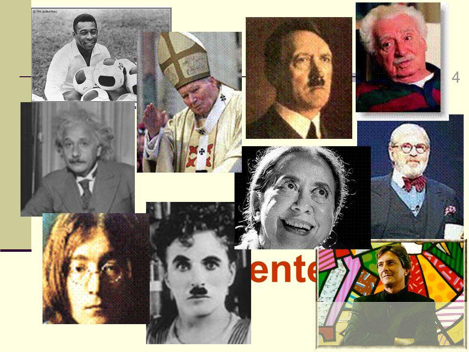 4 Pessoas Inteligentes Tema do Slide: Mostrar pessoas INTELIGENTES em diferentes perspectivas;