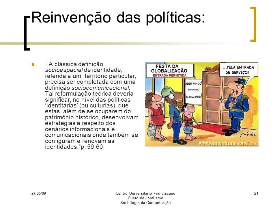Reinvenção das políticas: