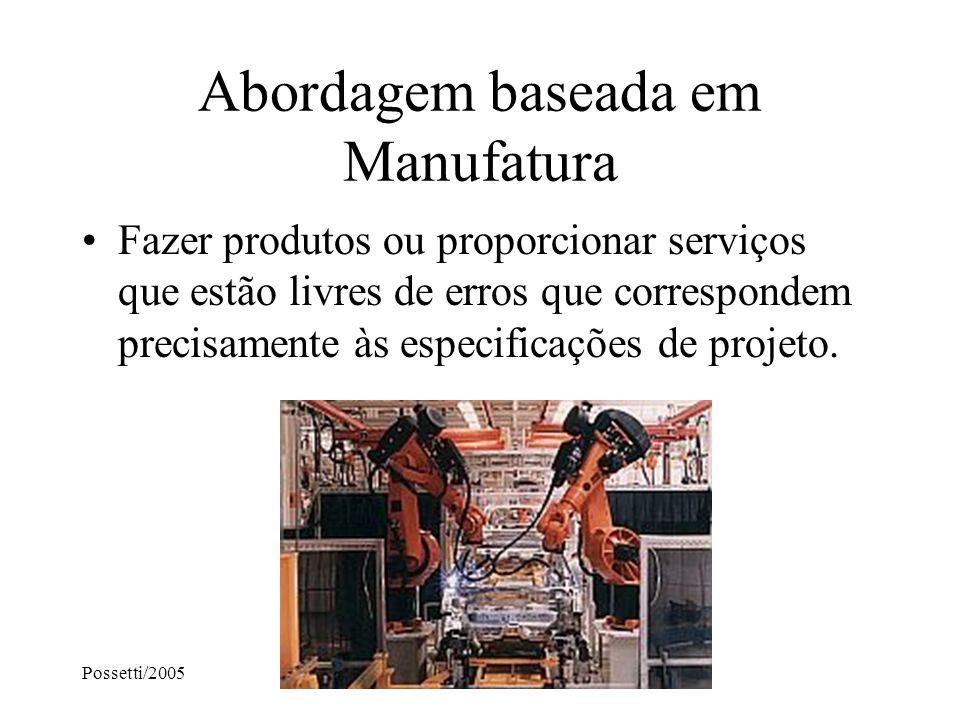 Abordagem baseada em Manufatura