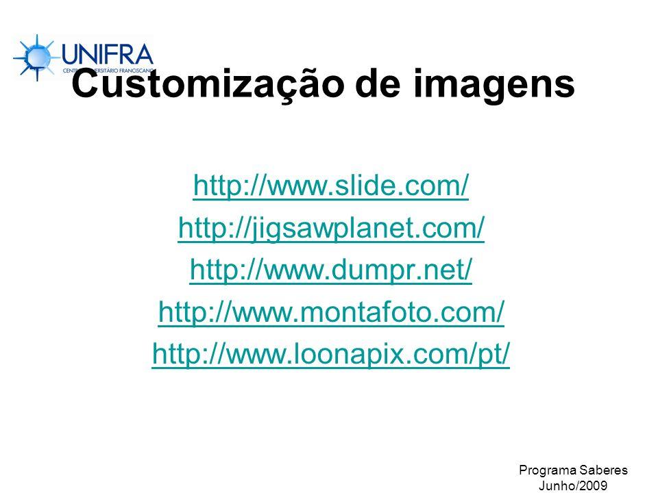 Customização de imagens