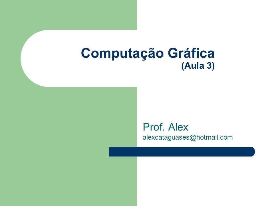 Computação Gráfica (Aula 3)