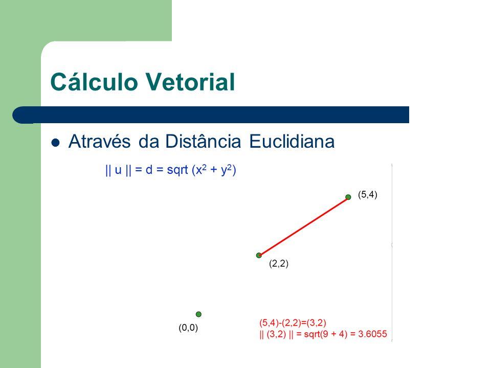 Cálculo Vetorial Através da Distância Euclidiana