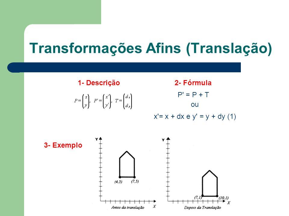 Transformações Afins (Translação)