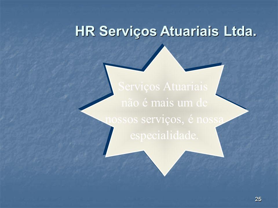 HR Serviços Atuariais Ltda.